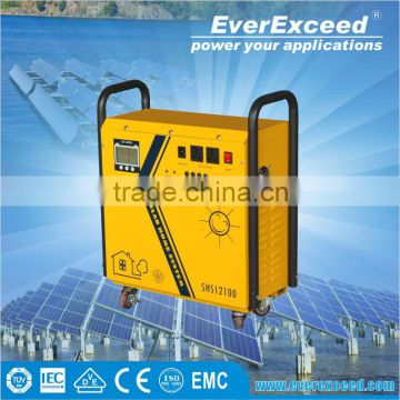 EverExceed reliable quality solar energy home system for outside solar lighting application
