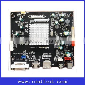 4K 2K 60HZ QHD144HZ LCD Main Mother Driver Controller Board with eDP, V by  One, HDMI, DVI