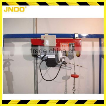 Small wireless remote control electric hoist