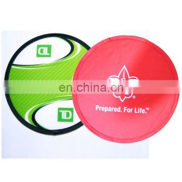 cheap nylon promotional foldable frisbee