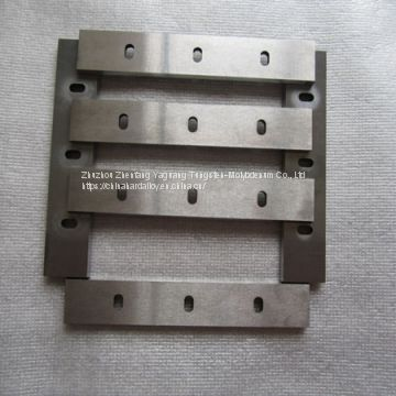 Tungsten Carbide Plates for Hot Rolling 3D Glass