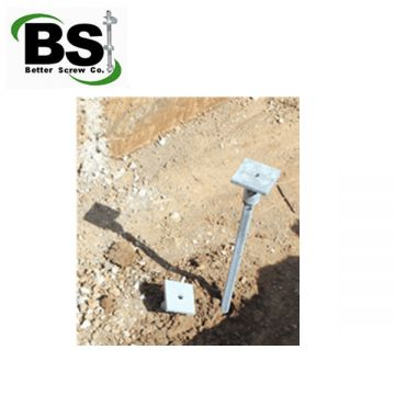 Brackets & Connections - Pier foundation Systems