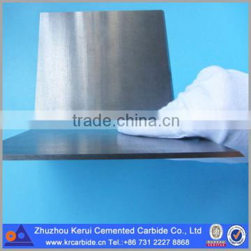 Tungsten carbide wear plate to make the upper and lower mould of silicon  steel sheet materials