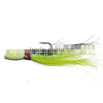 Kmucutie CFF003 bucktail jig lead jigging bait for bass fishing
