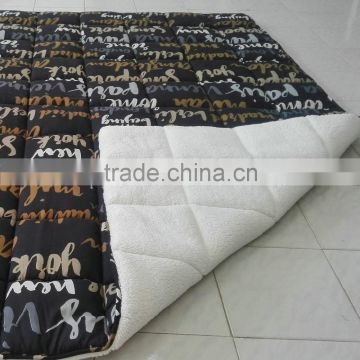 Latest products high quality microfiber quilt products imported from china wholesale