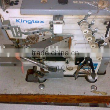 KINGTEX CT40 Used TAIWAN Second Hand High Speed Cylinder Bed Simple Cylinder Sewing Machine Used