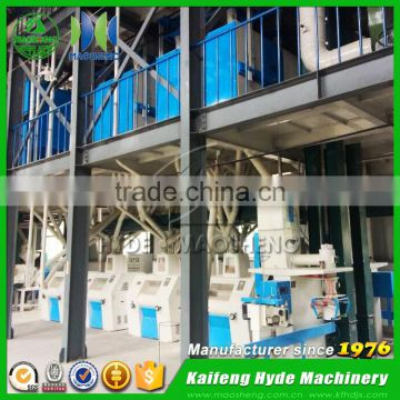 MSQ automatic corn mill with diesel engine