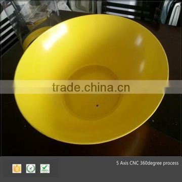 Thermoforming plastic dome
