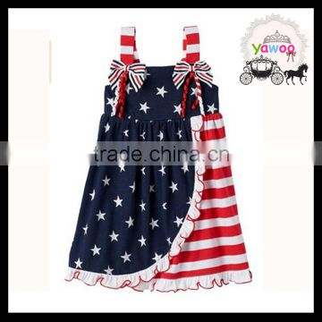 Neck Design 4th Of July Dress Girls Summer Dresses Latest Children Frocks Designs Baby Girls Party Wear Dress Of July 4th Clothes From China Suppliers 157071304