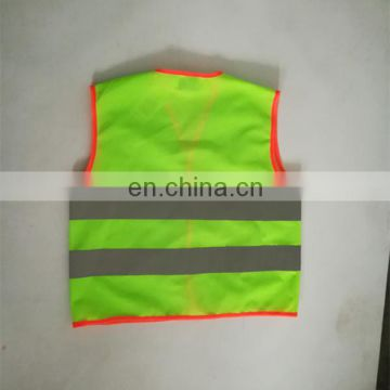 EN1150 Green Safety Kids Security Vest