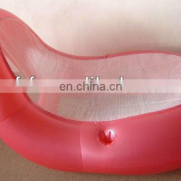inflatable single floating pool sofa chair