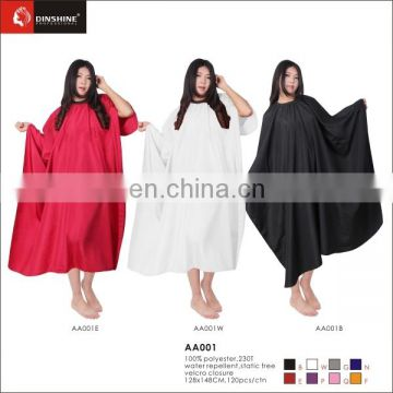 high quality beauty hair cutting cape of all kind of colors