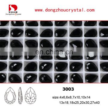 Dongzhou Point Back Crystal Stone Wholesale Price