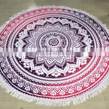 Wall Hanging Mandala Boho Polyester Tablecloth Towels Blanket Roundie Throw Omra design wholesaler and manufacturer