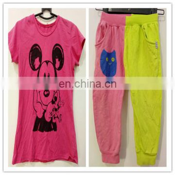 Cotton Material cute used baby clothing taiwan