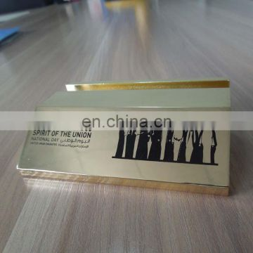 existing mold customized logo printed business name card holder