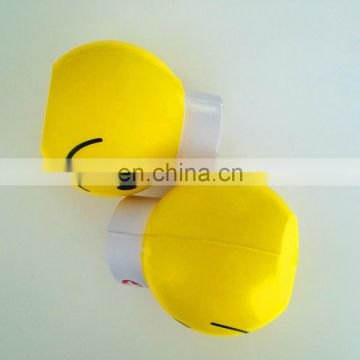 customized PU stress ball toy of promotion gift smiling doctor