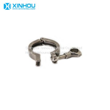 industry 304 316 stainless steel pipe fitting quick tri clamp