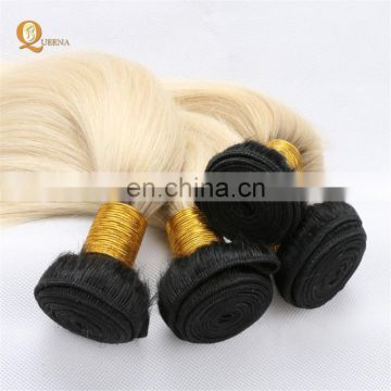 Dropshipping Cuticle Aligned Virgin Remy Hair 613 Wavy 613 Body Wave Closure Blonde Hair Bundles