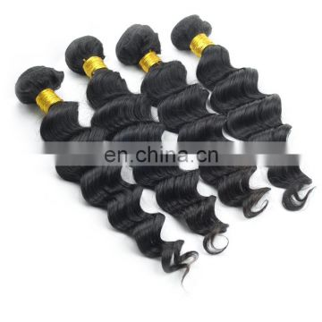 Factory brazilian loose deep wave hair weave