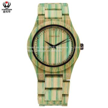 XINBOQIN Factory Customised Elegance Price Men Brands Luxury Fashion High END Quartz Wood Watch