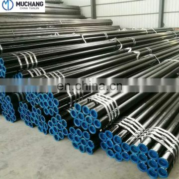 China Piping Manufacturer API 5L ASTM A53 Carbon MS Seamless Steel Pipe