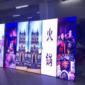 Linsn Poster LED Display Mirror led screen