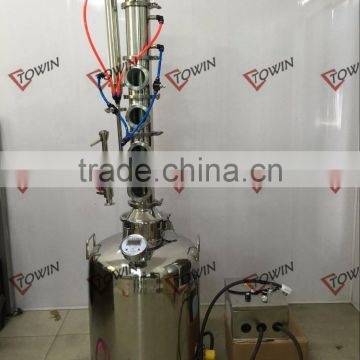 Plates For Sale >> 50l 500l Modular Reflux Column Still With Bubble Plates For