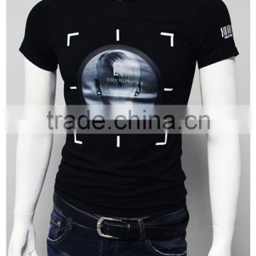 China factory Good quality Fashion printed short sleeve men t shirt
