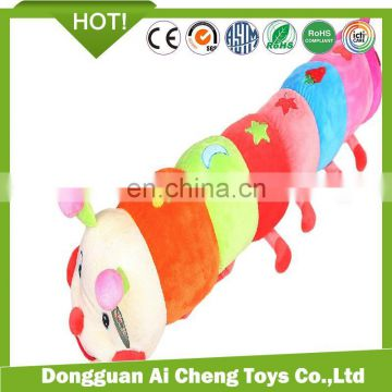 custom company made kids toys cute plush caterpillar