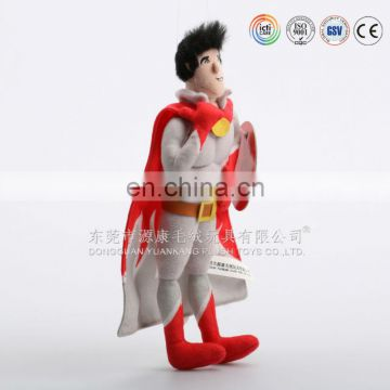 High quality best price plush stuffed superman toy