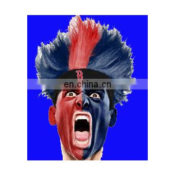 NFL/MLB/NBA/NHL fans fuzzy head wig for sport event