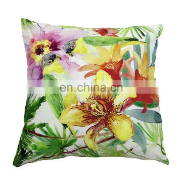High Quality Square Soft Bus Driver Seat Cushion With Flowers