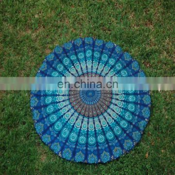 Round Mandala Indian Bohemian picnic Tapestry Beach Picnic Throw Towel Rug Round Mandala Wall Hanging Beach picnic Wholesale