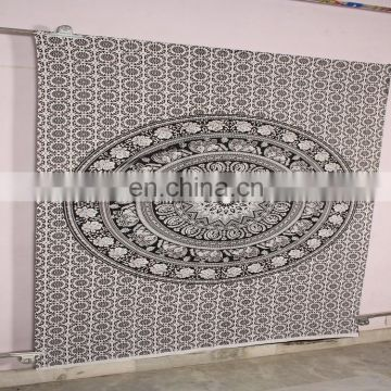 Indian Cotton Bed sheet Wall Hanging Mandala Tapestry Decor Bohemian Bedspread Tapestry