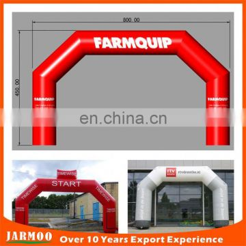 Customized outdoor inflatable arch, PVC advertising inflatable arch for design
