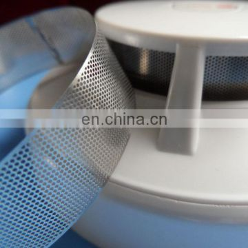Reusable metal air filter mesh smoke detector cover