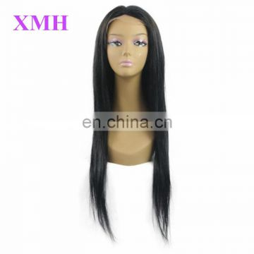 Wholesale Virgin Indian Remy Human hair full lace human hair wig 24 inches