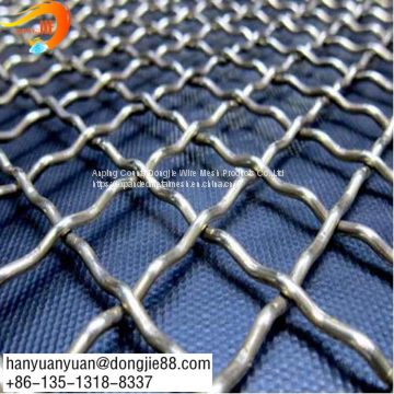 Steel Wire Rod Circular Bbq Crimped Wire Mesh