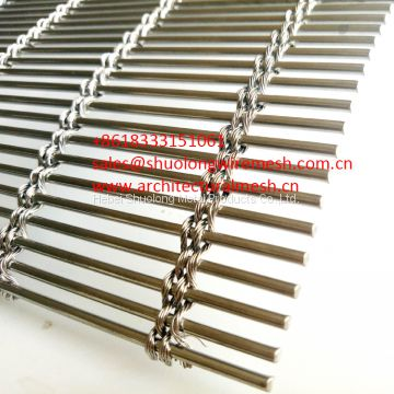 XY-M4240 Architectural Mesh for Metal Cladding stainless steel for exterior applications