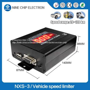 Usb data recording vehicle/car/mini car/lorry speed governor