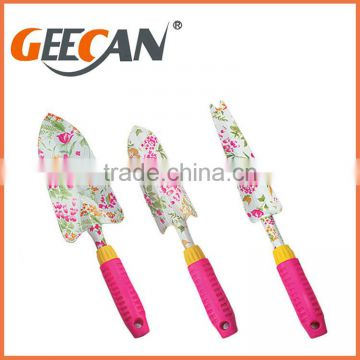 Children Garden tool set, Kids Garden Tools with floral printing