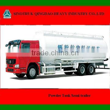 HOWO 6X4 Powder Tank Semi-trailer for sale