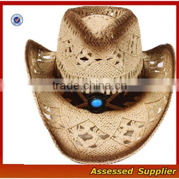 951309df16b High quality women men s summer woven straw cowboy hat Australia ranch hat  with shapeable brim of Hat from China Suppliers - 157207976