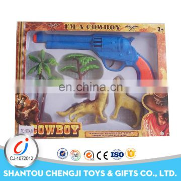 Christmas gift cheap plastic toy solid color self defense gun