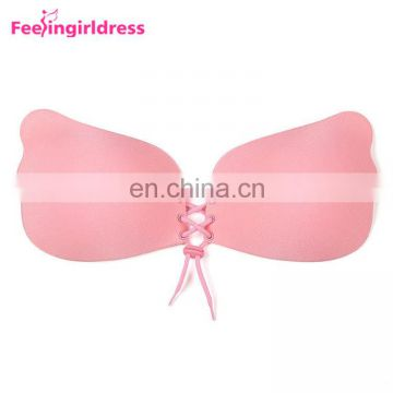 Latest Design Women Self Adhesive Seamless Backless Sexy Strapless Bra