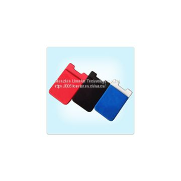adhesive phone sticker 3M card holder wallet with logo printed