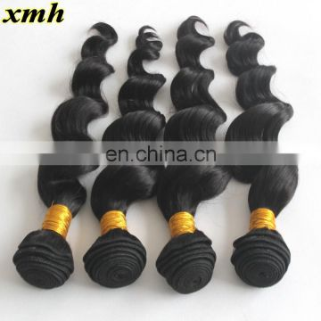 Brazilian Loose Wave XMH Hair Products 9A Loose Wave Bundles 100Grams Unprocessed Deep Loose Wave Hair