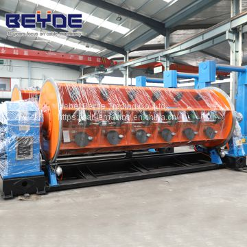 Frame Stranding machine for copper strand, aluminum strand, ACSR as well as twisting