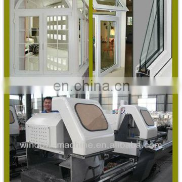 Semi-automatic Double-head Cutting Saw/China PVC Window Machine/PVC window and door machine